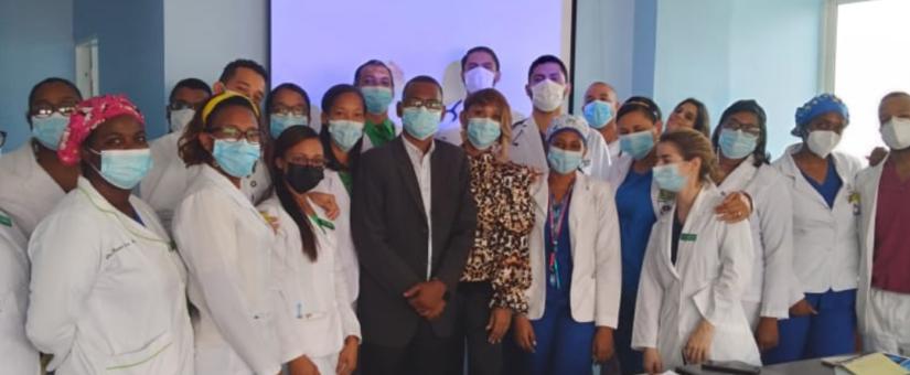 El ODHGV realiza capacitación en Derechos Humanos a personal médico.